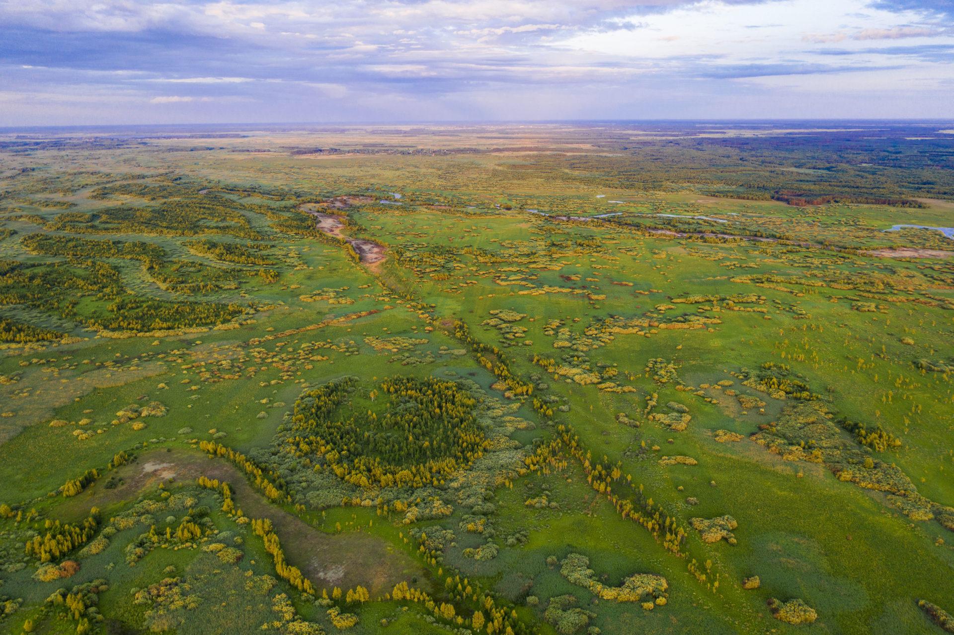 Prypiat-Stokhid National Park in Ukrainian Polesia